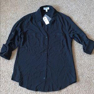 EXPRESS WOMANS black blouse SZ.XS
